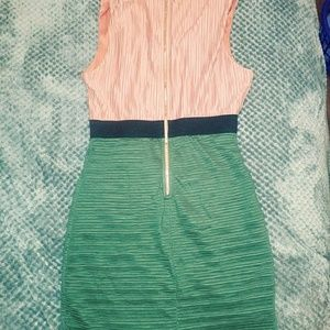 Forever21 peach, army green color with gold zipper